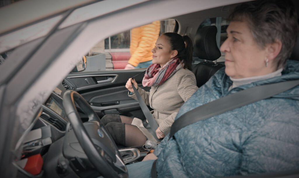 Taxi Gast Fahrer