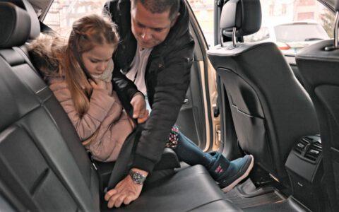 Taxi Kind Sicherheit